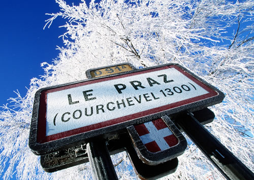 Courchevel-Le-Praz-Sign