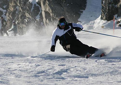 ski instructor ski lessons