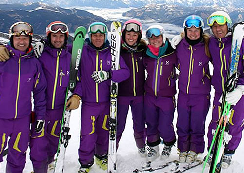Ski Coaching ski lessons