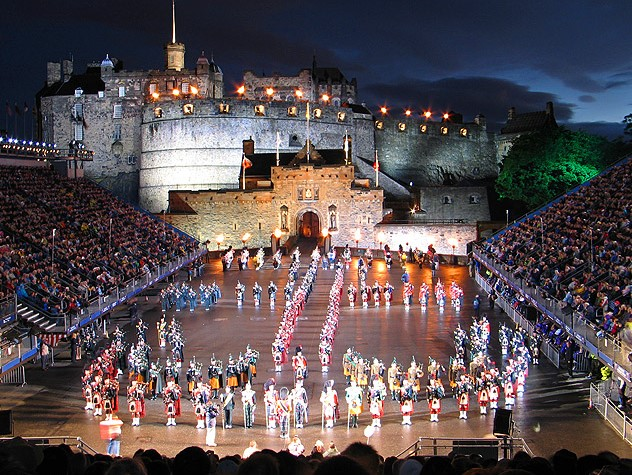 Edinburgh Military Tattoo Stands