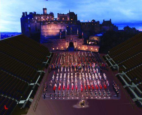 Edinburgh Military Tattoo Stands