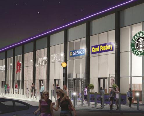 Straiton Retail Park Terrace